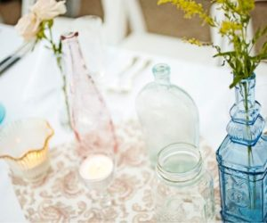 Decorating with Glass Bottles: Ideas & Inspiration