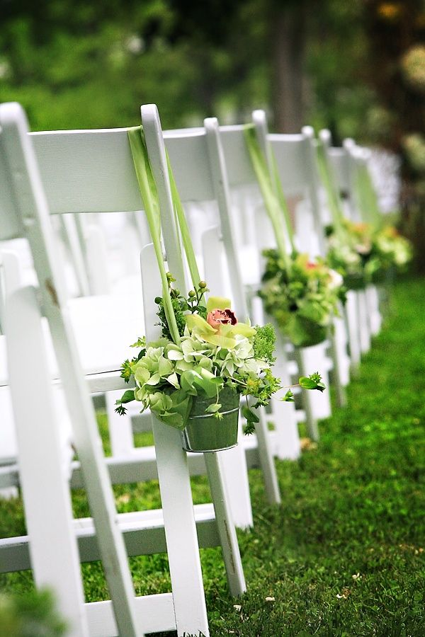 outdoor wedding chair decorations 23 creative ways of using buckets in interior and exterior 6320