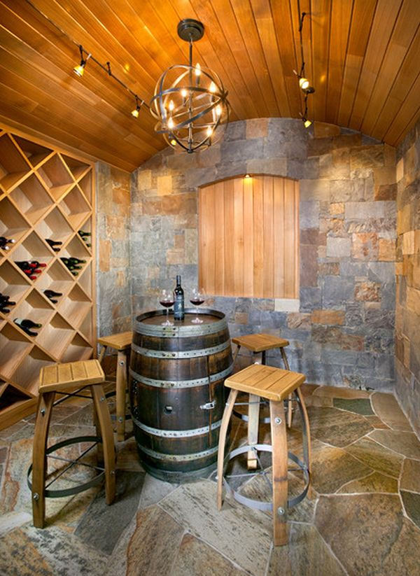 Ordinaire 19 Interesting Ways Of Using Wine Barrels In Home Décor