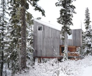 A cabin in the woods – a cozy retreat any time of the year