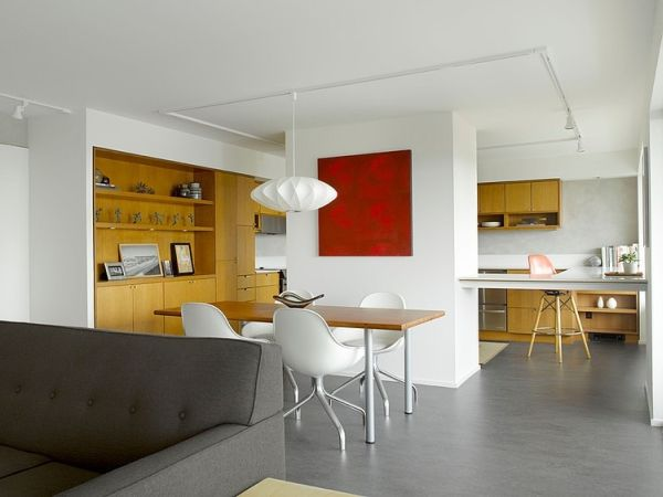 A Redesigned Mid Century Apartment In Seattle