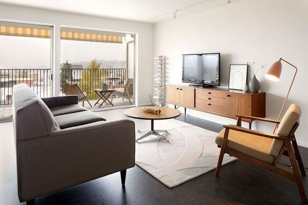 Charmant A Redesigned Mid Century Apartment In Seattle