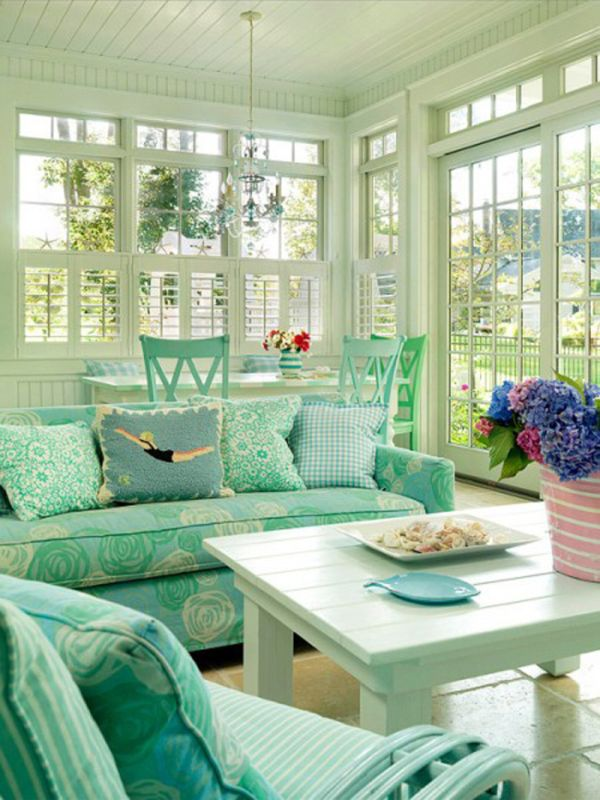 & 35 Beautiful Sunroom Design Ideas