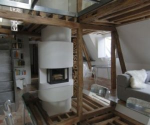 Charming 18th century duplex renovated in Place de la Madeleine
