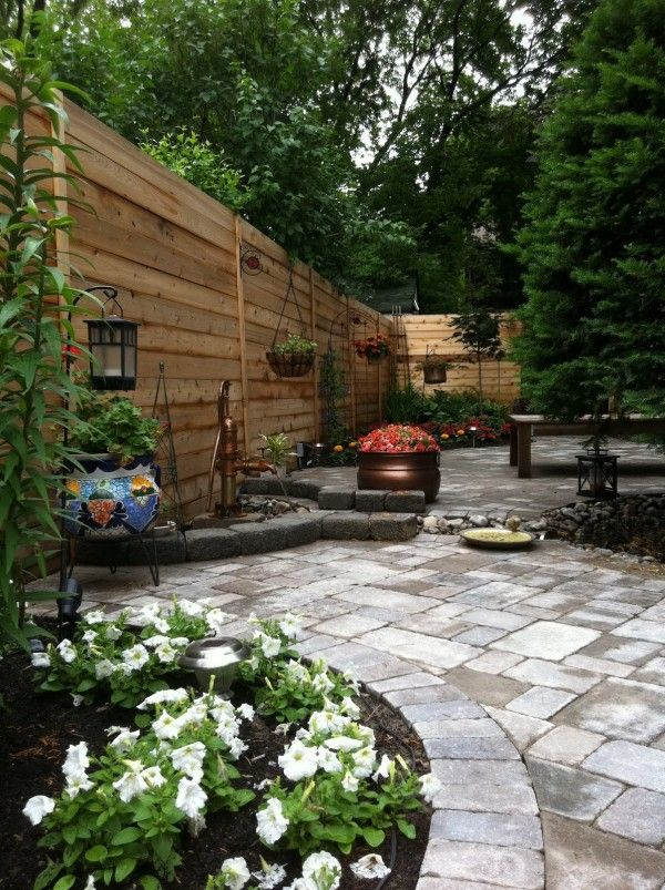 Designing Backyard Landscape serene symmetry 30 Wonderful Backyard Landscaping Ideas