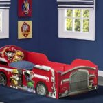 Nick Jr. PAW Patrol Delta Children Wood Toddler Bed