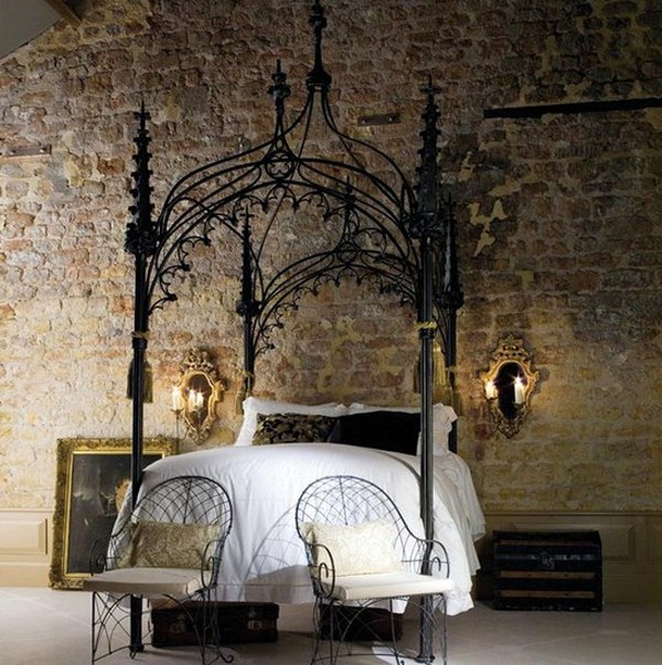 Gothic Style Interior Design 13 mysterious gothic bedroom interior design ideas
