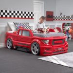 Step2 Turbocharged Twin Truck Kids Bed