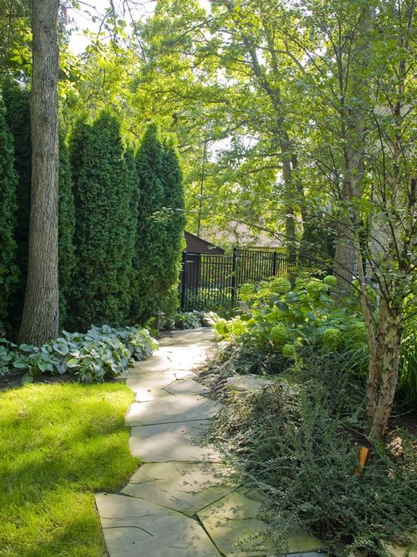 30 wonderful backyard landscaping ideas for Pics of landscaped backyards