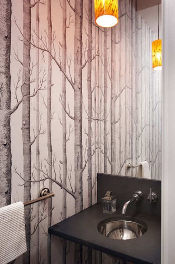 5 stylish trendy updated wallpaper patterns for Wallpaper trends for bathrooms