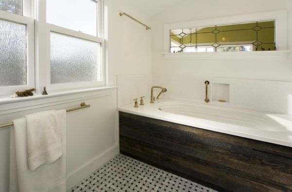 Creating A Natural Feel With Wood In Contemporary Bathrooms