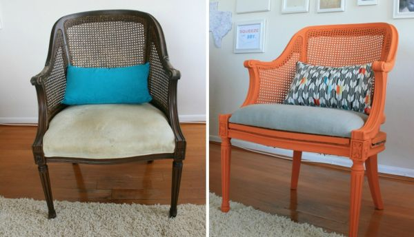 Lovely How To Reupholster A Chair: 10 Chic Ideas
