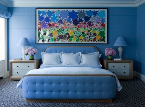 15 blue bedrooms with soothing designs for Bedroom ideas in blue