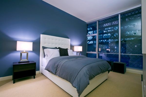 Interior Blue Bed Rooms 15 blue bedrooms with soothing designs and white