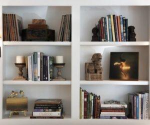 Tips For Keeping A Bookshelf Organized