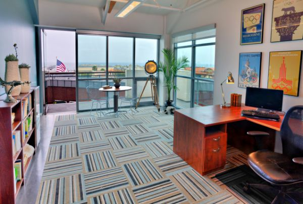 Elegant How To Select Flooring For A Home Office