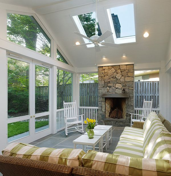 35 beautiful sunroom design ideas for 15x15 living room
