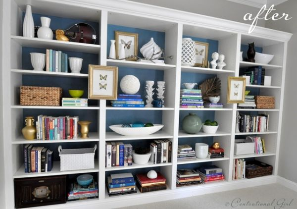 Tips for keeping a bookshelf organized - Tips to keep your house more organized ...