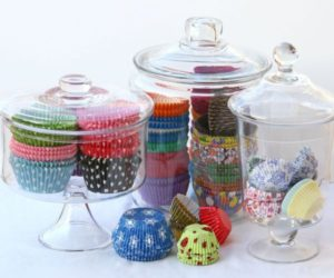 5 Ways To Display All Your Cupcake Liners!