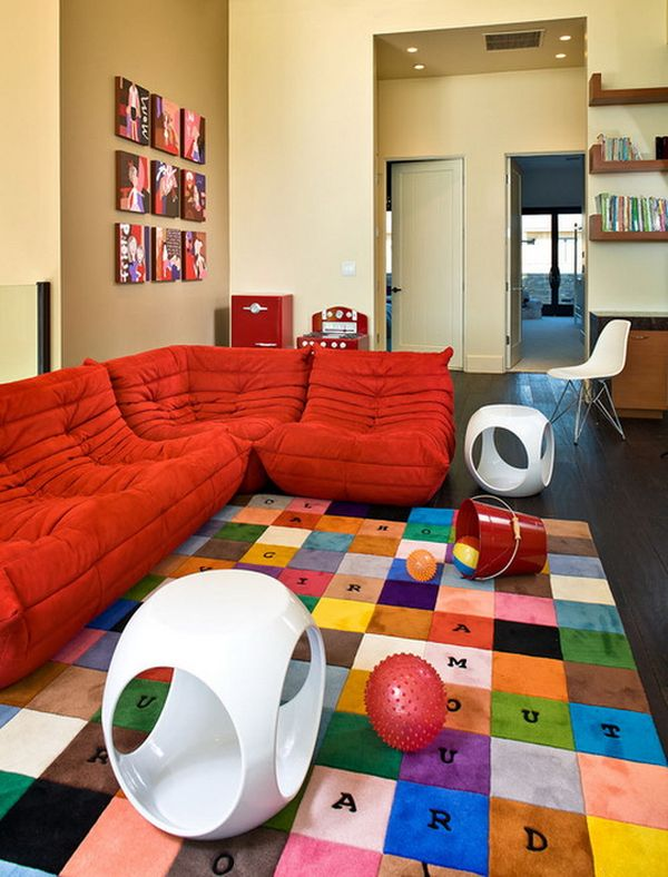 Kids Play Room Furniture Unique Homedit 35 Colorful Playroom Design Ideas
