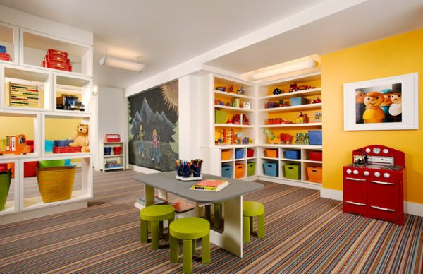 Exceptional 35 Colorful Playroom Design Ideas