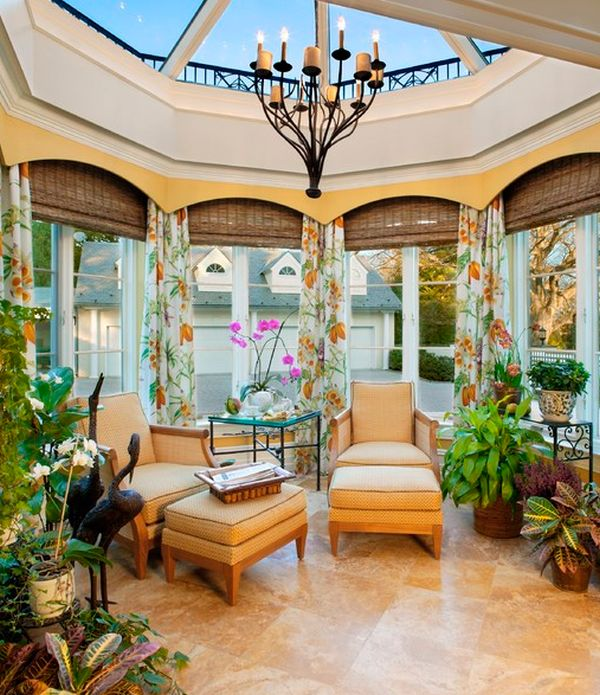Kitchen Sunroom Designs.  35 Beautiful Sunroom Design Ideas