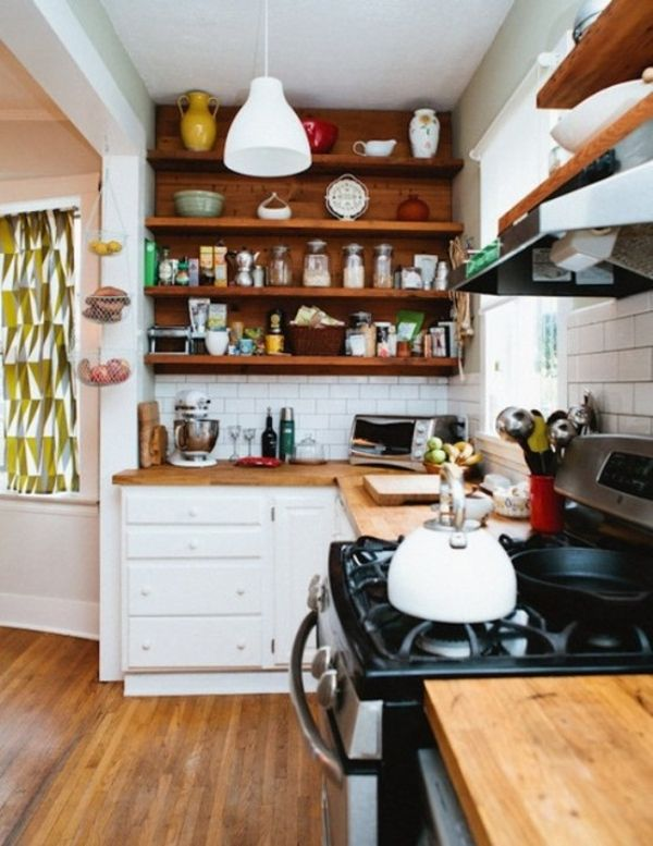 Captivating 27 Space Saving Design Ideas For Small Kitchens