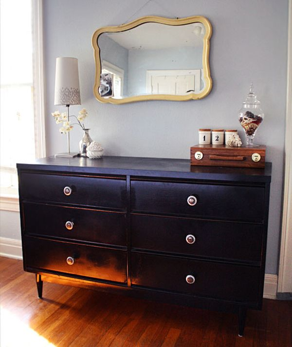 Lovely Spray Painted Furniture Ideas Part - 2: 2. Dressers.
