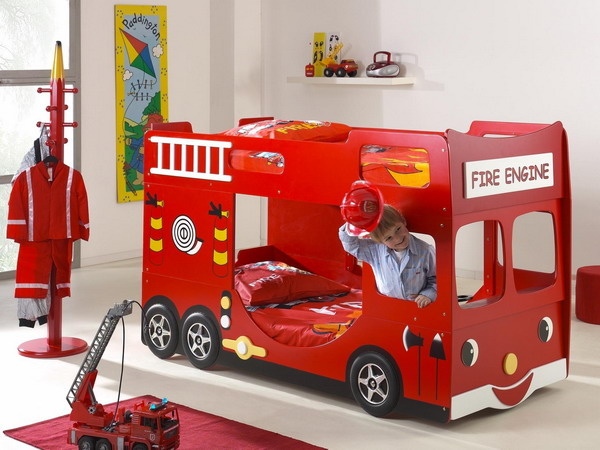 premium selection b11ee cc9bb 25 Racing Car Beds For Children Rooms