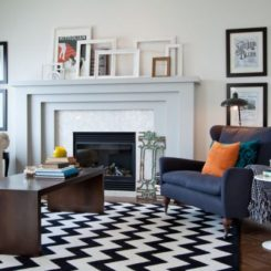 Eclectic Mantle Collages: Ideas U0026 Inspiration