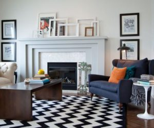Eclectic Mantle Collages: Ideas & Inspiration