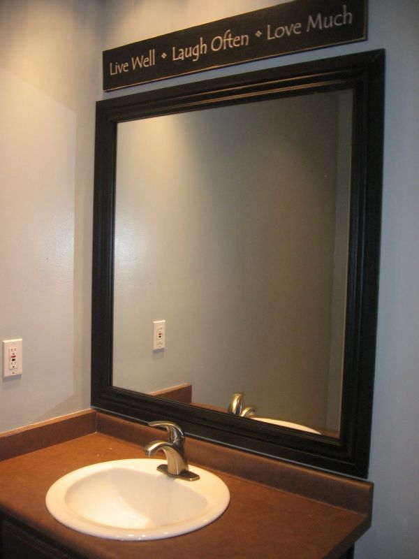 inexpensive bathroom mirrors diy mirrors chic accessories in any home 13241