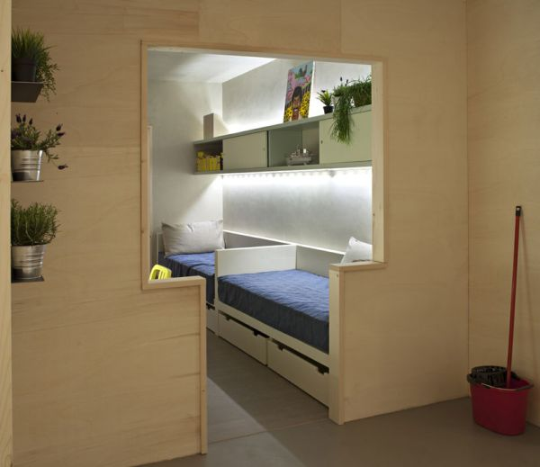 The Freedom Room – a project developed with the help of inmates from an Italian prison