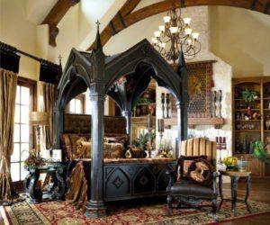 13 Mysterious Gothic Bedroom Interior Design Ideas Idea