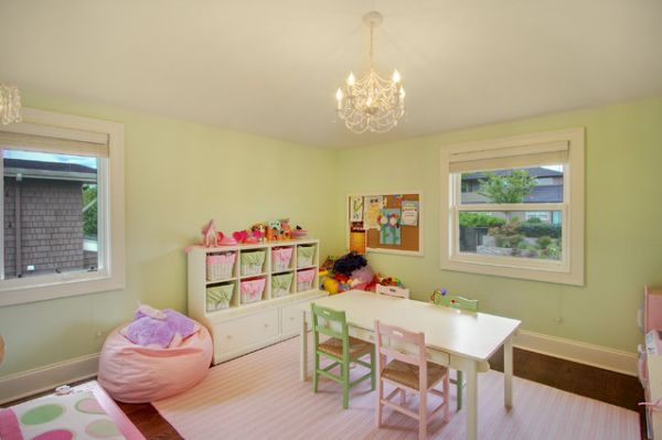 35 Colorful Playroom Design Ideas