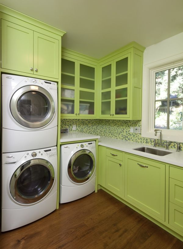 Laundry Room Design Ideas To Inspire You - Clean washing machine ideas