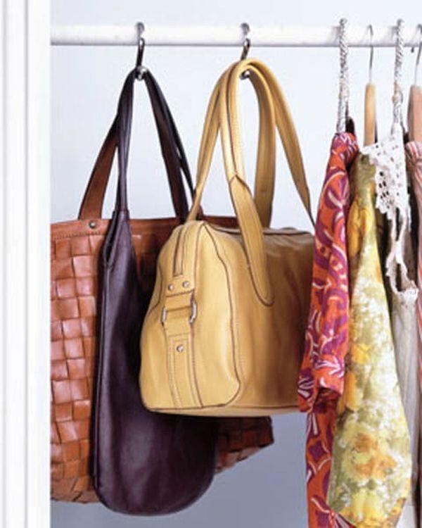 & Practical Storage Ideas For Handbags
