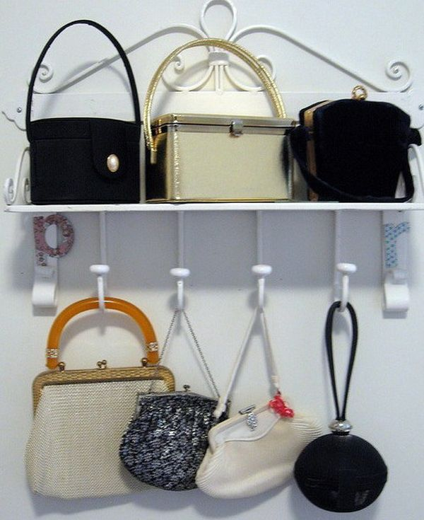 Ideas For Hanging Purses