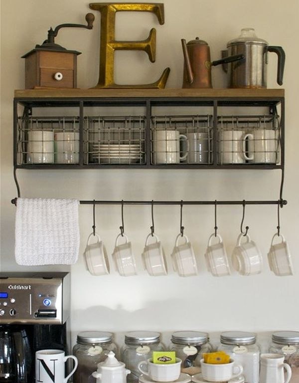 Good Clever And Space Saving Hanging Systems For Mugs