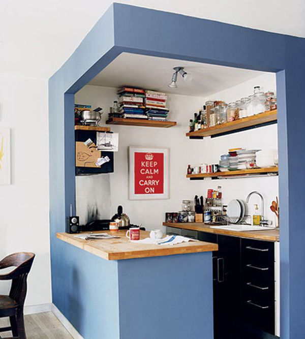 27 space saving design ideas for small kitchens - Astuce amenagement cuisine ...