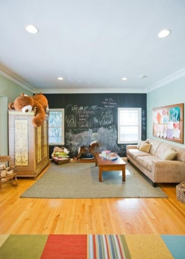 35 colorful playroom design ideas for Playroom floor ideas