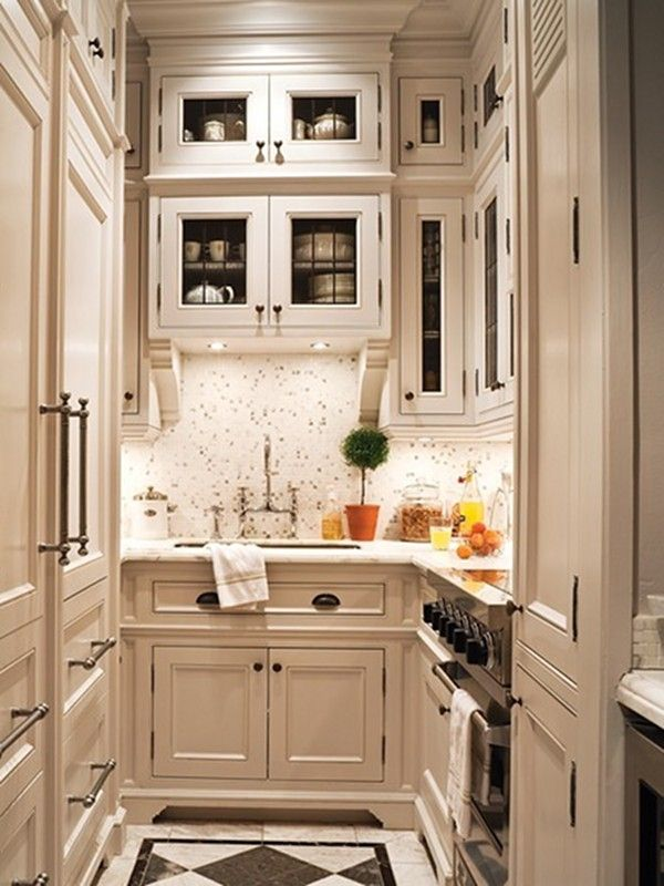 Kitchen Decor Ideas For Small Kitchens Part - 33: 27 Space-Saving Design Ideas For Small Kitchens