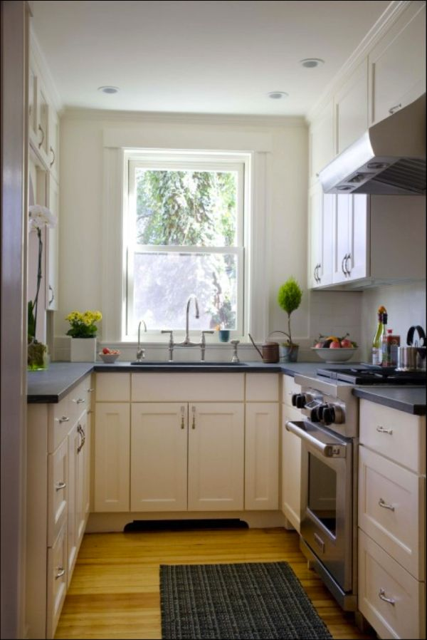 27 space saving design ideas for small kitchens - Design Ideas For Small Spaces