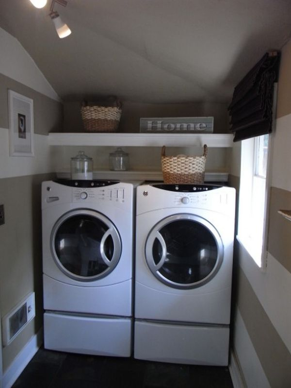 42 laundry room design ideas to inspire you - Laundry rooms for small spaces decoration ...