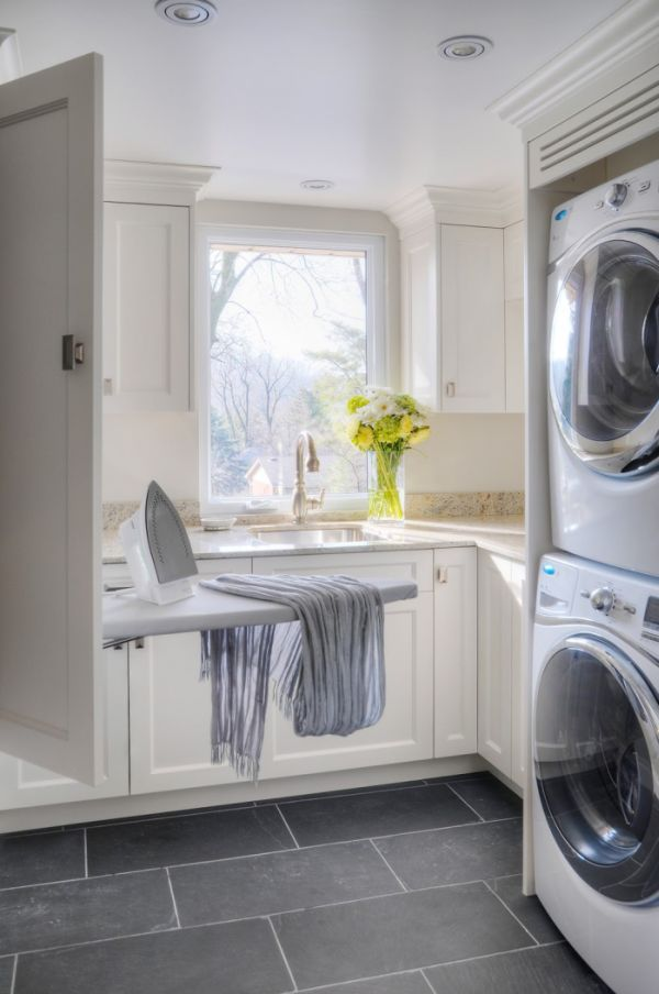 closet storage ideas - 42 Laundry Room Design Ideas To Inspire You