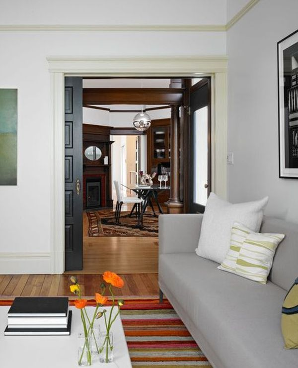 Alternatives To Doors Interiors: Space-saving Alternatives With An