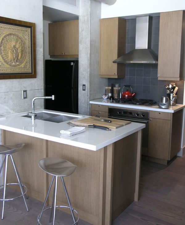 Space Saving Ideas For Small Kitchens Part - 22: 27 Space-Saving Design Ideas For Small Kitchens