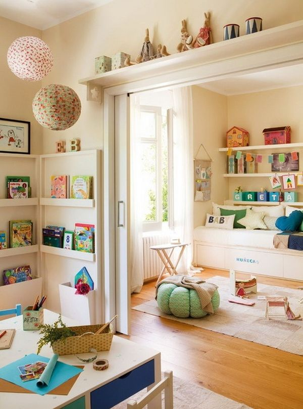 Childrens Playrooms 35 colorful playroom design ideas