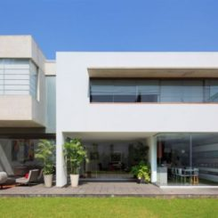 Attractive Modern Residence In Lima Featuring A Smooth Transition Between Social And  Private Spaces Amazing Ideas