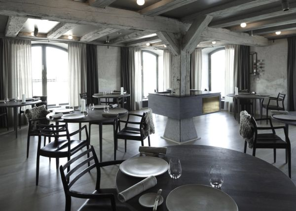 this is the noma restaurant it has been named worlds best restaurant this year and its located in copenhagen the interior has been a project by danish - Gray Restaurant Decorating